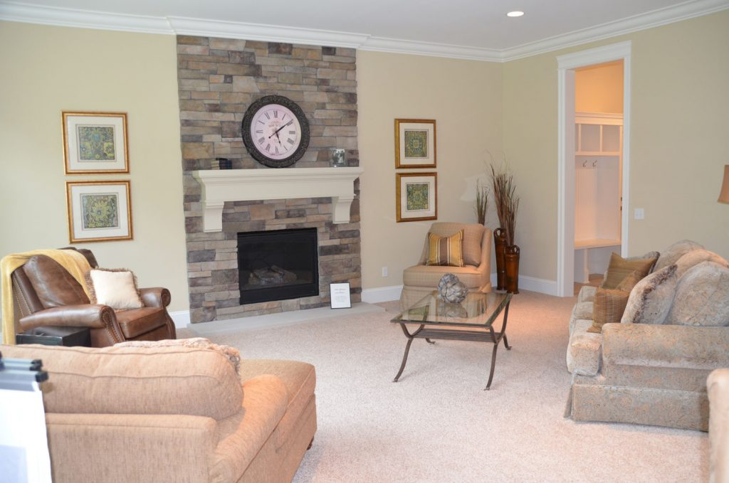 Fireplace Interior by Spall Realty Corporation