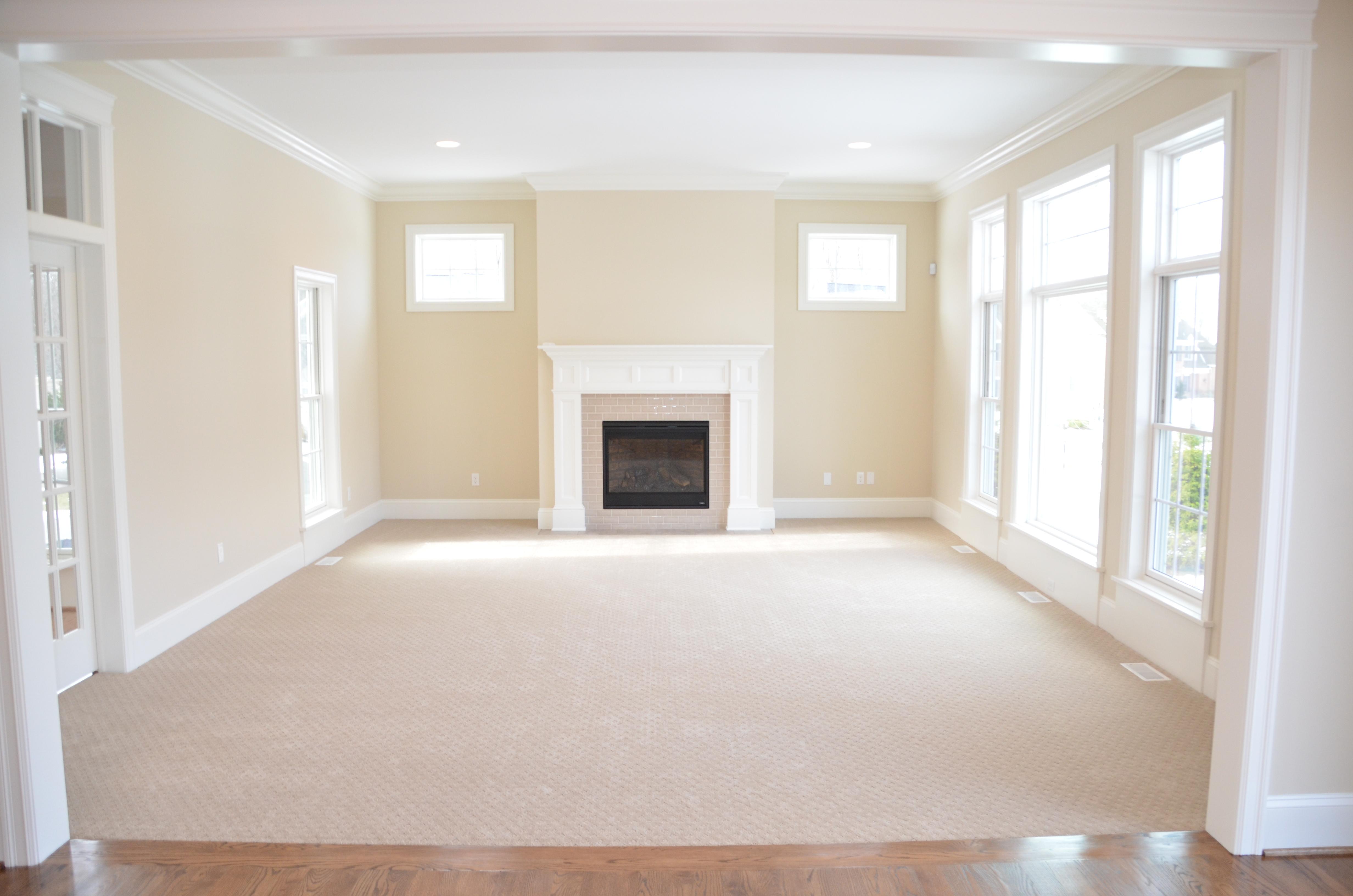 Pittsford Custom Homes - Living Room