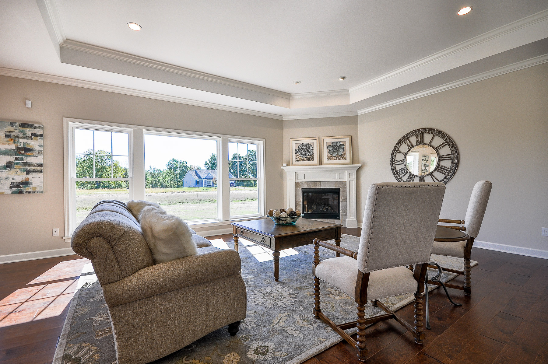Coventry Ridge (Lot 3) Living Room Design
